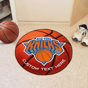 Picture of NBA - New York Knicks Personalized Basketball Mat