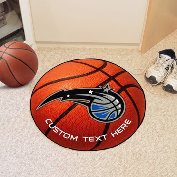 Picture of NBA - Orlando Magic Personalized Basketball Mat