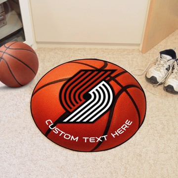Picture of Portland Trail Blazers Personalized Basketball Mat