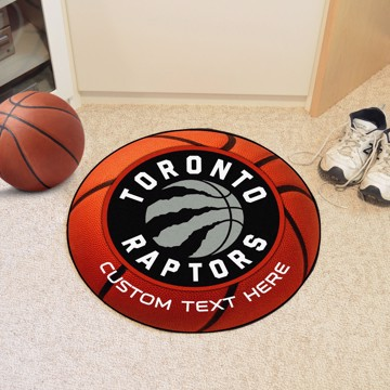 Picture of Toronto Raptors Personalized Basketball Mat