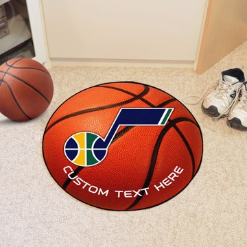 Picture of NBA - Utah Jazz Personalized Basketball Mat