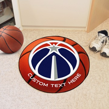 Picture of NBA - Washington Wizards Personalized Basketball Mat