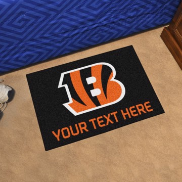 Picture of Cincinnati Bengals Personalized Accent Rug