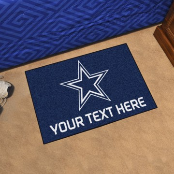 Picture of Dallas Cowboys Personalized Starter Mat