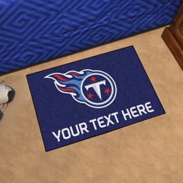 Picture of Tennessee Titans Personalized Starter Mat