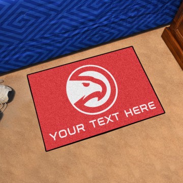 Picture of NBA - Atlanta Hawks Personalized Accent Rug