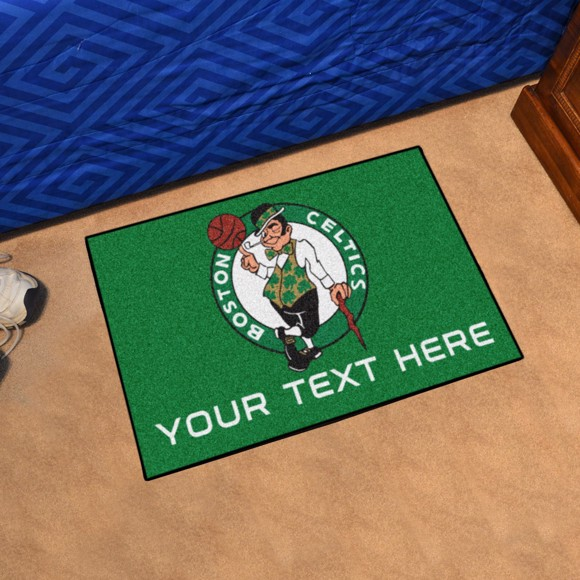 Picture of Boston Celtics Personalized Starter Mat