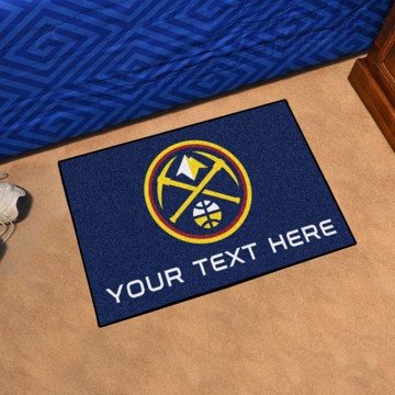 Picture of NBA - Denver Nuggets Personalized Starter Mat
