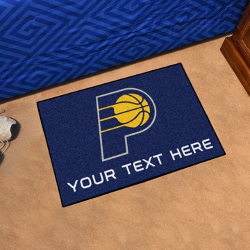Picture of Indiana Pacers Personalized Starter Mat