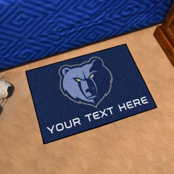 Picture of NBA - Memphis Grizzlies Personalized Starter Mat