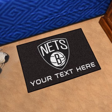 Picture of NBA - Brooklyn Nets Personalized Accent Rug