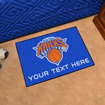 Picture of New York Knicks Personalized Starter Mat