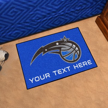Picture of NBA - Orlando Magic Personalized Starter Mat