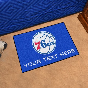 Picture of Philadelphia 76ers Personalized Starter Mat