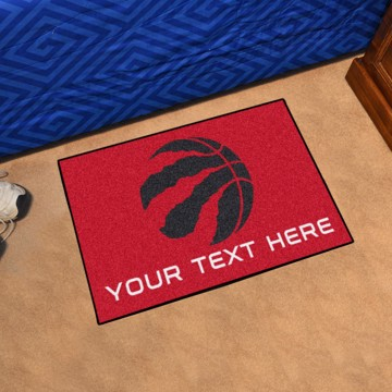 Picture of Toronto Raptors Personalized Starter Mat