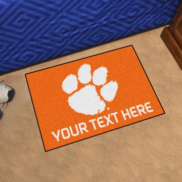 Picture of Personalized Clemson University Starter Mat
