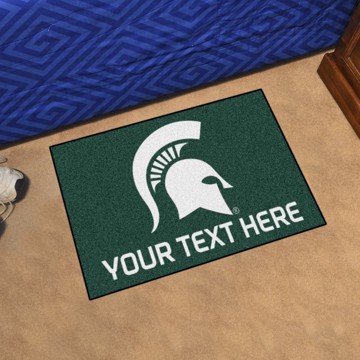 Picture of Personalized Michigan State University Starter Mat