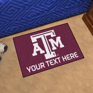 Picture of Personalized Texas A&M University Starter Mat