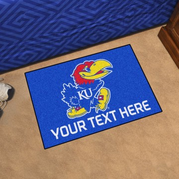 Picture of Personalized University of Kansas Starter Mat