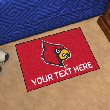 Picture of Personalized University of Louisville Starter Mat