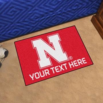 Picture of Personalized University of Nebraska Starter Mat