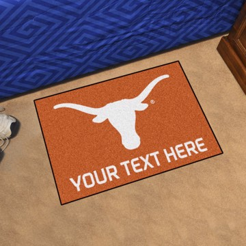 Picture of Personalized University of Texas Starter Mat