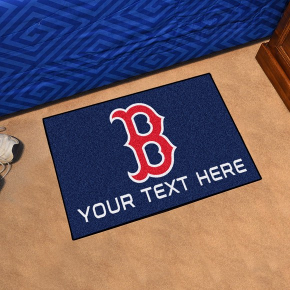 Picture of Boston Red Sox Personalized Starter Mat
