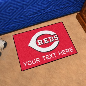 Picture of Cincinnati Reds Personalized Accent Rug