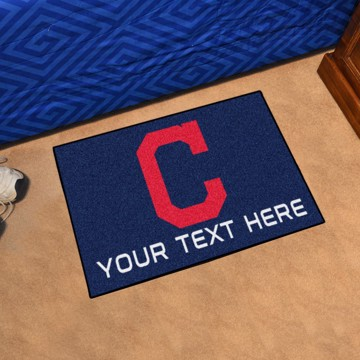 Picture of Cleveland Indians Personalized Accent Rug
