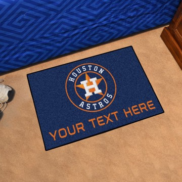Picture of Houston Astros Personalized Starter Mat