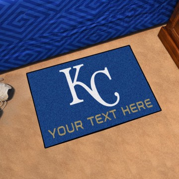 Picture of Kansas City Royals Personalized Starter Mat