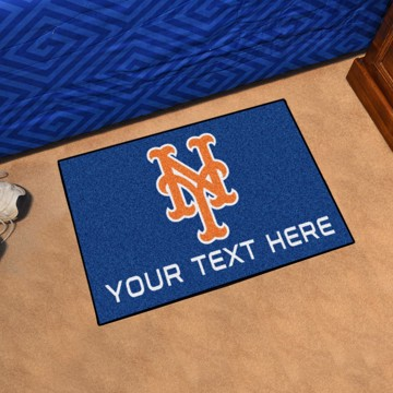 Picture of New York Mets Personalized Starter Mat