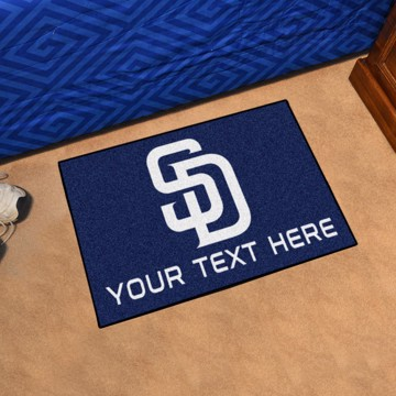 Picture of San Diego Padres Personalized Starter Mat