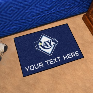Picture of Tampa Bay Rays Personalized Starter Mat