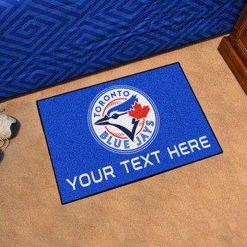 Picture of Toronto Blue Jays Personalized Starter Mat