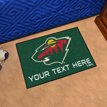 Picture of Minnesota Wild Personalized Starter Mat