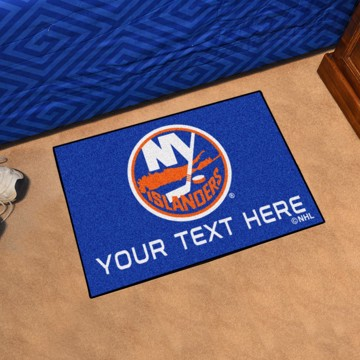 Picture of New York Islanders Personalized Starter Mat