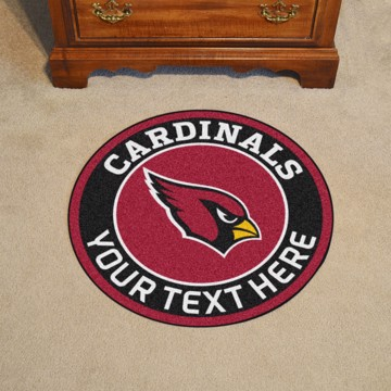 Picture of Arizona Cardinals Personalized Roundel Mat