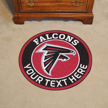 Picture of Atlanta Falcons Personalized Roundel Mat