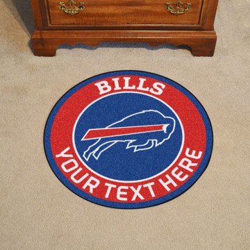 Picture of NFL - Buffalo Bills Personalized Roundel Mat Rug