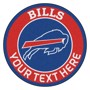 Picture of Buffalo Bills Personalized Roundel Mat