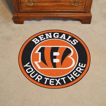 Picture of Cincinnati Bengals Personalized Roundel Mat