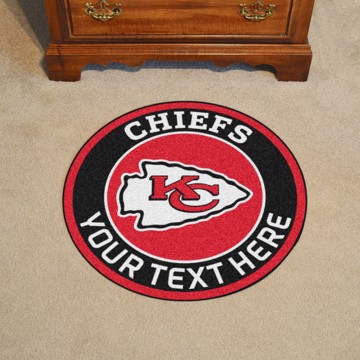 Picture of Kansas City Chiefs Personalized Roundel Mat