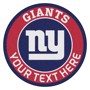 Picture of New York Giants Personalized Roundel Mat