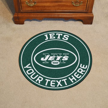 Picture of New York Jets Personalized Roundel Mat