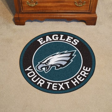 Picture of Philadelphia Eagles Personalized Roundel Mat