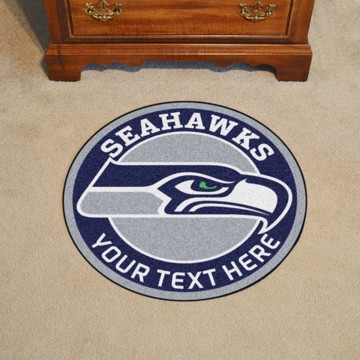 Picture of Seattle Seahawks Personalized Roundel Mat