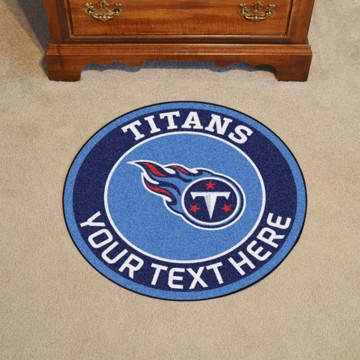 Picture of Tennessee Titans Personalized Roundel Mat