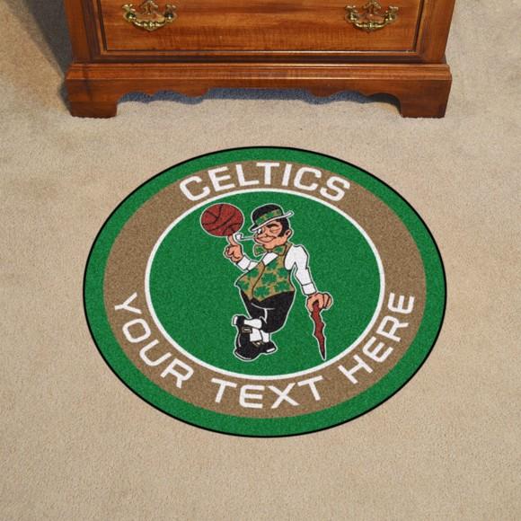 Picture of Boston Celtics Personalized Roundel Mat