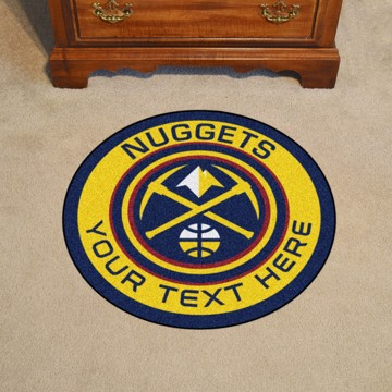 Picture of NBA - Denver Nuggets Personalized Roundel Mat